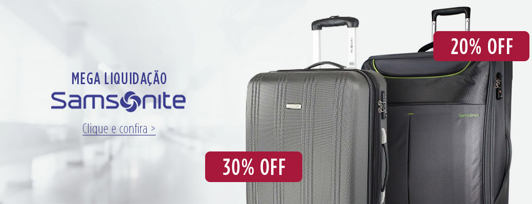 Banner samsonite 30%